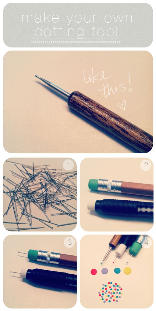 Make your own nail art tools